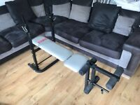 York B590 weights bench. Work out bench.