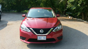 2017 nissan sentra lease take over