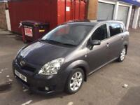 2008 57 TOYOTA COROLLA VERSO 2.2 D4d SR 7 SEATER 125k IMMACULATE MUST SEE SEE FSH BARGAIN DIESEL