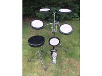 Practice/portable drum kit + stool
