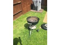 Webber 47cm Barbeque black with cover