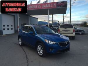2013 Mazda CX-5 GTcuir toit mags gps full