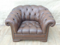 Chesterfield stylish large armchair (Delivery)