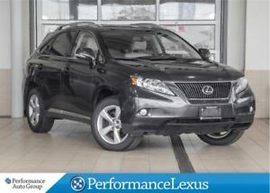 2010 Lexus RX 350 PREMIUM PACKAGE 2 - ACCIDENT FREE!