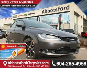 2016 Chrysler 200 S Like New Showcase Vehicle, All-Wheel Drive!