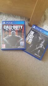 Call of Duty Black Ops III & The Last Of Us