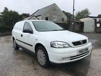 2003 (53) Vauxhall Astra van 1.7DTi 16v Envoy DIESEL VAN DRIVES GREAT