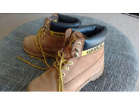 Caterpillar boots size 5