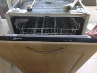 secondhand neff dishwasher for sale due to new kitchen only two years old good working order .