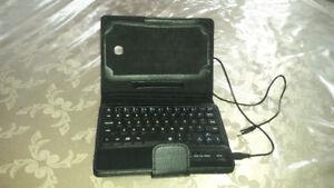 Bluetooth Keyboard Leather Case for Samsung Galaxy Tab 3 7 Inch