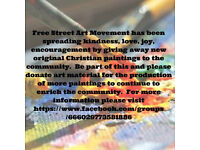 Make part of Free Street Art Movement