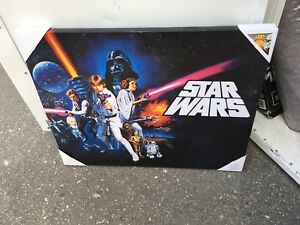 Star Wars canvas picture in frame
