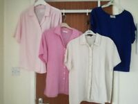 Nearly New Summer Tops Size 12 £3 each