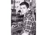 Essay help with Bernard: proofreading, copy reading, writing.