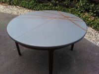 G Plan Style Retro Solid Wood Extending Table Can Deliver