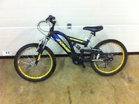 "KLONDYKE Mountain bike 20"" wheels"