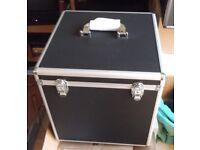 ALUMINIUM RECORD BOX. BRAND NEW STILL IN PACKAGING