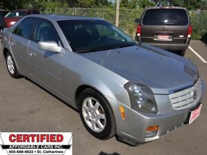 2007 Cadillac CTS ** HTD LEATH, CRUISE, DUAL  CLIMATE **