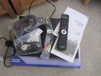 BOXED HUMAX FOXSAT HDR 320GB FREESAT + HD DIGITAL RECORDER FREEVIEW HDD