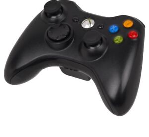 Xbox 360 wireless controller with battery charger
