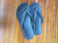 Original Crocs Flip Flops, grey, UK Size 8