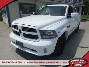 2016 Dodge Ram 1500 LOADED 'SPORT MODEL' 5 PASSENGER 5.7L - HEMI