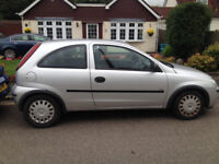 Vauxhall corsa low milliage good condition Oct mot