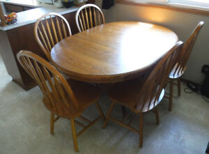 Kitchen Table Solid Oak