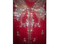 Beautiful Asian wedding clothes