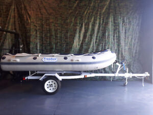 BOAT TRAILER/ JET SKI - for 8 to 16 Foot Boats - ALL NEW 2017
