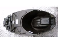 2011 Aprilia SportCity Under Seat saddle Plastic TRAY compartment