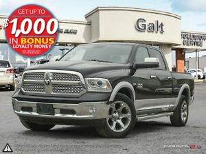 2014 Ram 1500 LARAMIE | LEATHER | SUNROOF | NAVIGATION