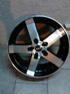4 mags asa 18 pouce usager 5x100