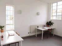 desk space in shared art studio, perfect for artist, creative, designer, Bermondsey, Peckham, London