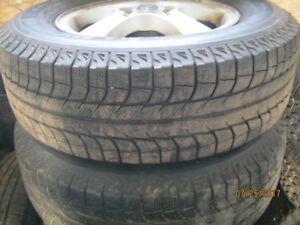 2  - 225-70-16 Michelin Lattitude X-Ice