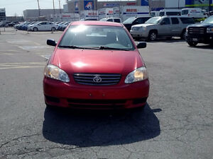 2004 Toyota Corolla CE Sedan; safety & e-test done!