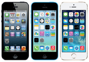 Unlocked iPhone 5 and 5S Starting from $275