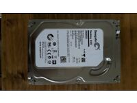 Seagate 2TB (2000GB) hard drive, internal 3.5'' - good condition
