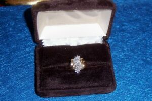 EXQUISITE..SIZE 7, DIAMOND RING