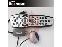 Sky HD Rev 9 Replacement Remote Control with TVLINK Magic Eye