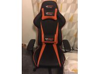 Gt omega gaming chair full leather