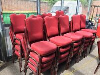 Burgundy Banqueting Chairs