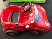 Children's battery operated car