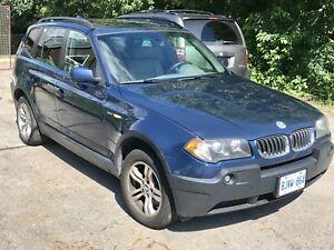 2004 BMW X3 3.0L AWD