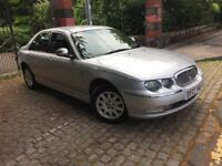 ROVER 75 2.5 V6 AUTO PEROL LOW MILAGE 65,000 12 MONTHS M.O.T