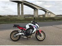 Honda CB650F 2015 for sale (Can be A2 restricted)