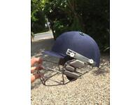 Cricket ,helmet ,pads ,box , gloves and bag
