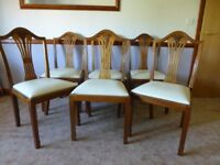 FREE - 6 dining chairs