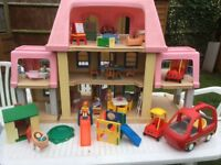 LITTLE TIKES FURNISHED GRAND MANSION