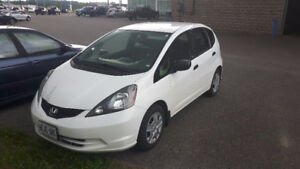 2014 Honda Fit DX-A Sedan with extended warranty